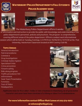 Waterbury Police Department's Fall Citizen's Police Academy 2020.jpg